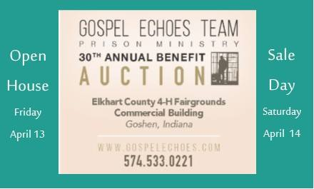 Gospel Echoes Benefit Auction Goshen