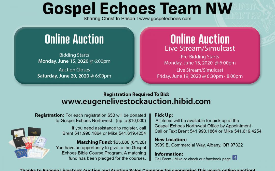 Gospel Echoes Northwest Online Auction